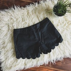 J. Crew Scalloped Shorts